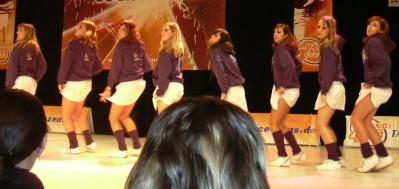 Chicas Ricas beim Dance4Fans-Contest in Stuttgart