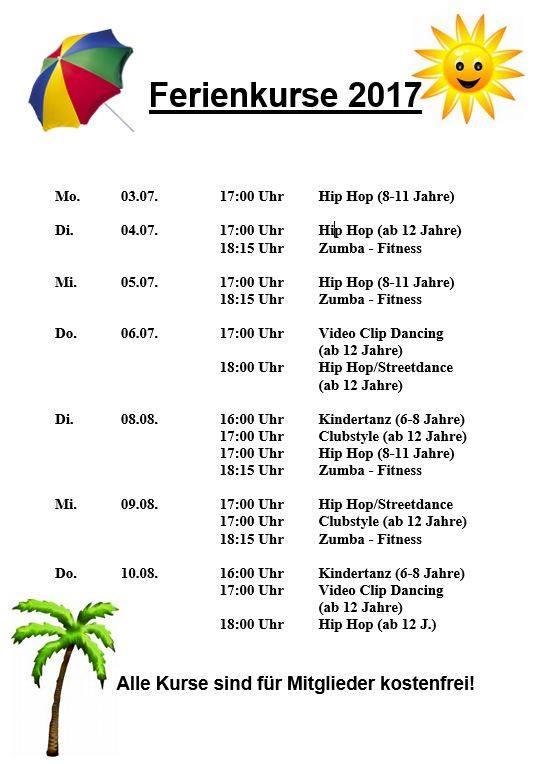 Ferienprogramm für Kinder und Jugendliche
